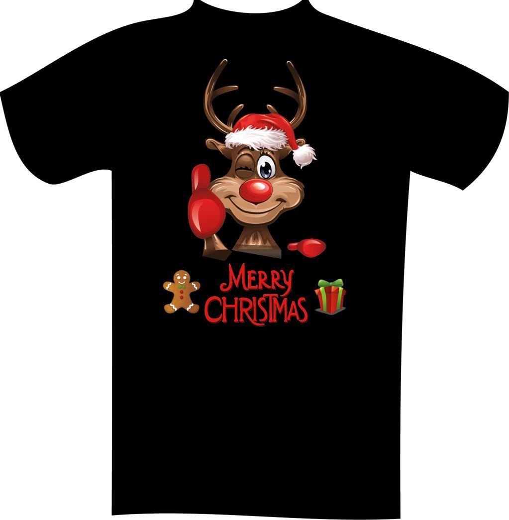 4d4fa6683893 Weihnachts-T-Shirt mit Druck 7126 2XL - 12XL Größe Wählen    Mode in ...