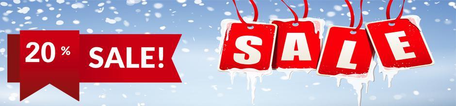 Winter Sale 20%