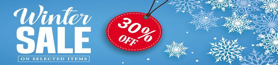 Winter Sale 30%