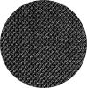 rundes Bild von dunkelgrauem Stoff