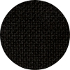 rundes Bild von schwarzem Stoff
